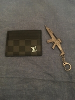 Used Lv card holder & pubg key chain in Dubai, UAE