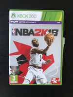 Used NBA 2k18 Xbox 360 Video Game in Dubai, UAE