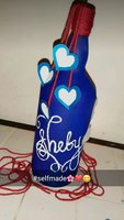 Used Bottle painting in Dubai, UAE
