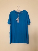 NEW Men's Casual Shirt LARGE Blue
