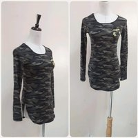 Used Military Top for Women free size stretch in Dubai, UAE