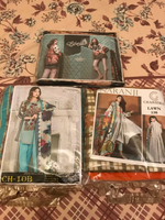 Used 3 Pakistani suits unstitched  in Dubai, UAE