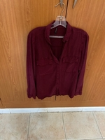 Used Red shirt from stradivarious  in Dubai, UAE