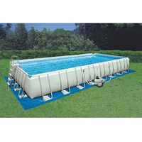 Used Intex pool 16ft by 36ft price negotiable in Dubai, UAE