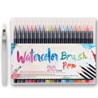 Used 20 pieces Watercolor brush Markers in Dubai, UAE