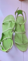 Used ALDO Neon green Sandles in Dubai, UAE