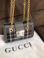 Gray Gucci handbag  -first class copy