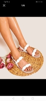 New White sandals size 37