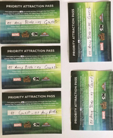 Used IMG World Priority Attraction Pass in Dubai, UAE