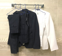 Used New 3Pcs (Suit,Pant,Vest)+2PcsWhite FREE in Dubai, UAE