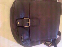 Used Teakwood genuine leather bag for men in Dubai, UAE