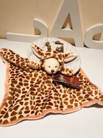 Used Ziggy Giraffe Rag 33 x 33 cm  in Dubai, UAE