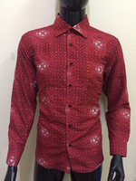 Used Red attractive Shirt - Size XL in Dubai, UAE