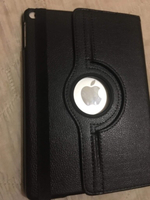 Used Ipad air leather case(black) in Dubai, UAE