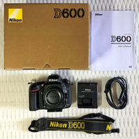Used Nikon D600 (Body) Fullframe DSLR Camera in Dubai, UAE