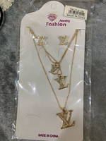Used Neckless with earrings  in Dubai, UAE