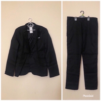 NEW Men's Suit & Pants 3XL Black