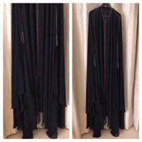 Used Wedding Abaya with Sheila free size  in Dubai, UAE