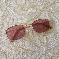 Used MANGO pink lens sunnies  (new) in Dubai, UAE
