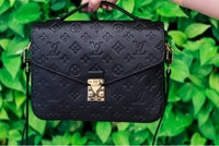 Used LV Pochette Metis Empreinte Noir Leather in Dubai, UAE