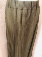 Used Long skirt dark green olive size XL in Dubai, UAE