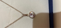 Used Real silver with cubic zirconia in Dubai, UAE