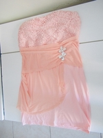 Used Brand new no shoulder dres.stretchable. in Dubai, UAE
