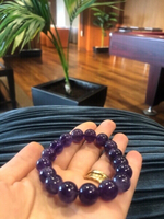 Used Original amethyst bracelet  in Dubai, UAE