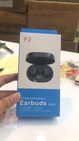 Wireless earbuds with high bass F2