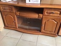 Used Wooden tv cabinet small size  in Dubai, UAE