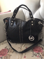 Used AUTHENTIC MICHEAL KORS LEATHER BAG... in Dubai, UAE