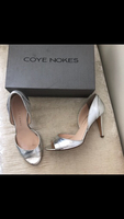 Used Silver pumps from Coye Noakes size 40 in Dubai, UAE