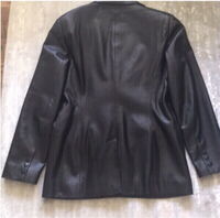 Used Oscar de la renta leather jacket size M in Dubai, UAE