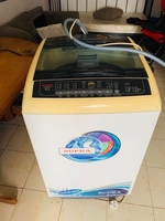 Used Washing machine n baby walker  in Dubai, UAE