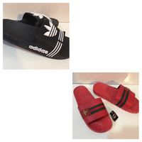 Used Offer deal:2 pairs slippers size 45,new  in Dubai, UAE