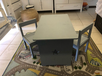 Used Kids table and 2 chairs in Dubai, UAE
