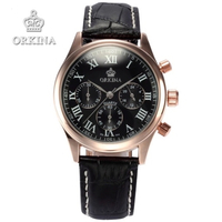 orkina men watch with chronograph