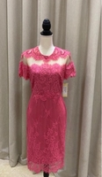 Used Mikael agghal salmon color embroidered in Dubai, UAE