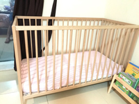 Used IKEA baby cradle with mattress  in Dubai, UAE