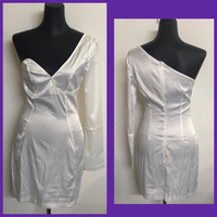 Used White Mini Dress/Small in Dubai, UAE