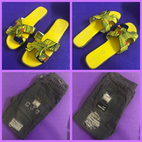 Used Distressed Pants & Fit flops in Dubai, UAE