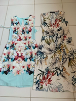 Used Two floral dresses zara and oasis in Dubai, UAE