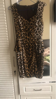 Used Tiger printed dress ( Forever 21) S size in Dubai, UAE