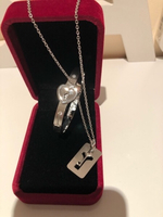 Used Love lock bangle & key necklace  in Dubai, UAE