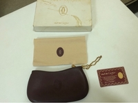 Used Authentic Vintage Cartier Pouch  in Dubai, UAE