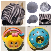Used Baby hat & rattle learning toy new in Dubai, UAE