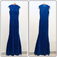 New KALINNU Beaded Sequins Long Dress