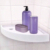 Toilet Snap up Corner Shelf NEW