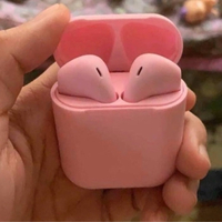 Used Wireless airpods with high bass pink  in Dubai, UAE
