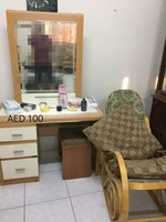 Used Dressing Table 100AED (direct msg) in Dubai, UAE